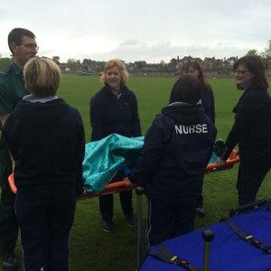 first aid training stretcher